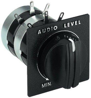 Monacor 12.0620Level Control für Lautsprecher Lautsprecher-frontplatte