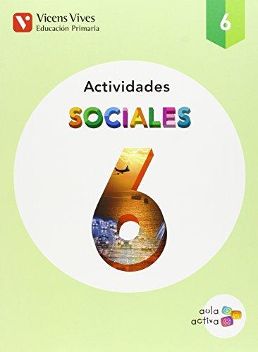 Sociales 6 Actividades (aula Activa) - 9788468228082 por Margarita Garcia Sebastian