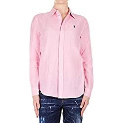 Ralph Lauren Luxury Fashion Mujer 211732637003 Rosa Camisa | Temporada Permanente