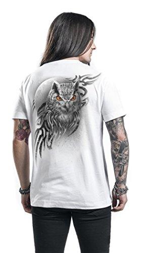 Spiral Wings Of Wisdom T-Shirt bianco Bianco