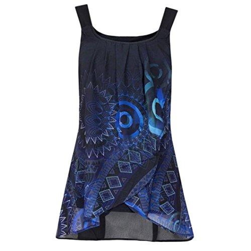 Luckycat Sommer Neue Mode Elegante Damen Print Shirt Casual Täglichen Sleeveless Oansatz Weste Tank Tops Bluse Camisole Tumblr T Shirts