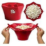 XOSHX Küche zubehör kreative Popcorn Maschine Eimer Snack schüssel DIY silikon mikrowelle Familie Partei liefert küche Werkzeuge