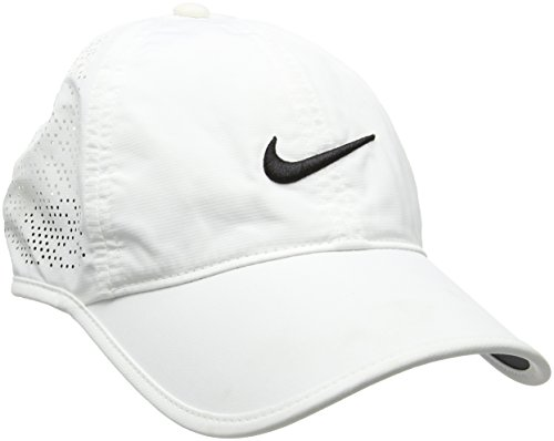 Nike Damen Golfkappe Performance, white/black, One Size, 742707-100 (Golf-bekleidung Nike Damen)