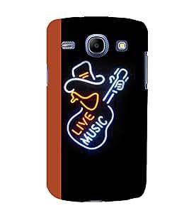 printtech LED Live Music Guitar Back Case Cover for Samsung Galaxy E7 / Samsung Galaxy E7 E700F
