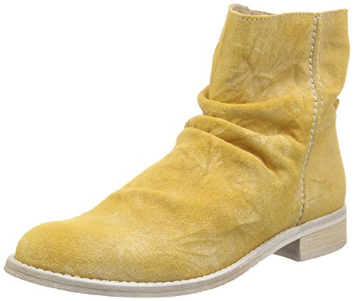 Buffalo London Es 30683 Suede Enrugado, Bottes Pour Femme Jaune (gelb (giallo 02))