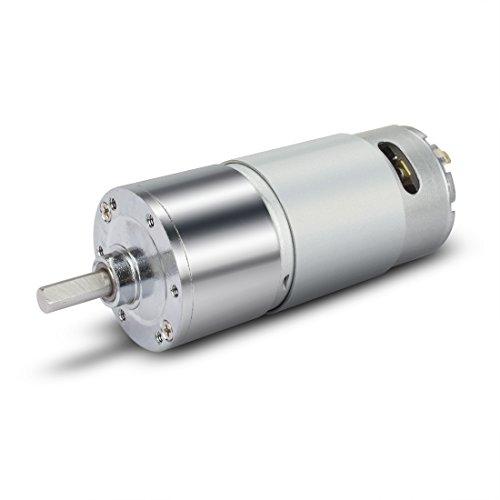 Aexit ZGB37RH DC12V 300RPM Mikro Getriebox Motordrehzahlreduzierung Exzenter Abtriebswelle
