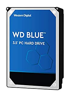 "WD Blue - Disco duro para ordenadores de sobremesa de 2 TB (5400 rpm, SATA a 6 Gb/s, 64 MB de caché, 3,5"") azul (B013QFRS2S) 