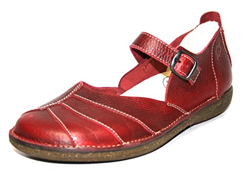 Loints of Holland , Coupe fermées femme Rot (rot-weiß 8375)