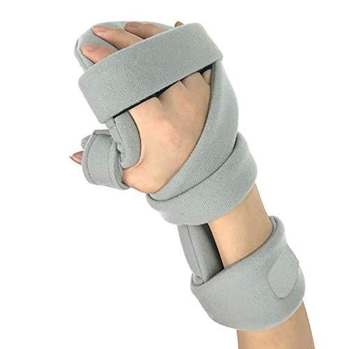 LOVEQIZI Finger Orthesen Griffbrett Medizinisches Trainings-Rehabilitationsgerät für Handfunktionsstörungen, Gehirnverletzung Fortgeschrittene Magnetfeldtherapie Fingertrainingsbrett,Right -