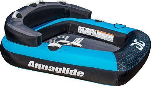 aquaglide-metro-2-person-shape-towable-tube-banana-boat-blue-116-x-31-by-aquaglide