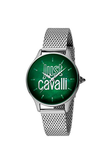 Just Cavalli Womens Analogue Classic Quartz Watch with Stainless Steel Strap JC1L032M0095