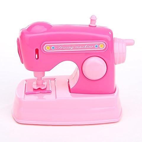 La Cabina Mini Machine Appareils Electriques et Meubles pour Enfants Children Play House Toy Cadeau de Bébés Jouet Educatif Enfant (Couleur aléatoire) (Machine à coudre)
