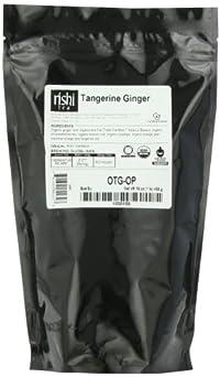 Rishi Tea Organic, Tangerine Ginger, 1-Pound