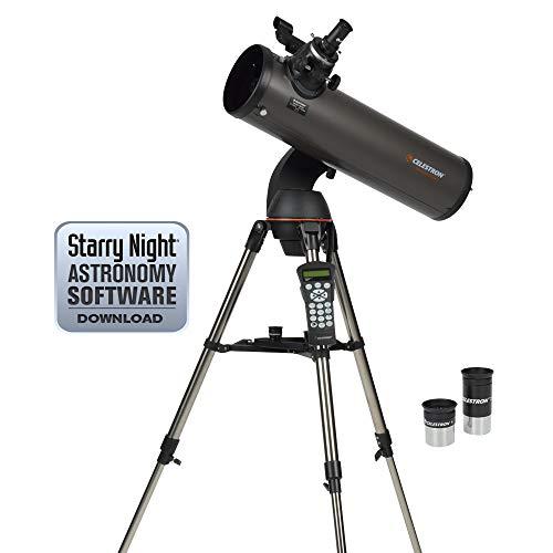 Celestron CE31145-DS NexStar 130 SLT Series Newtonian - Telescopio reflector (importado de...