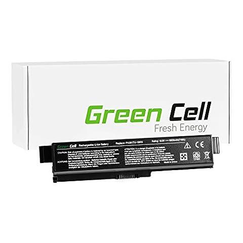 Green Cell® Extended Serie Laptop Akku für Toshiba Satellite C660-2FE (9 Zellen 6600mAh 10.8V