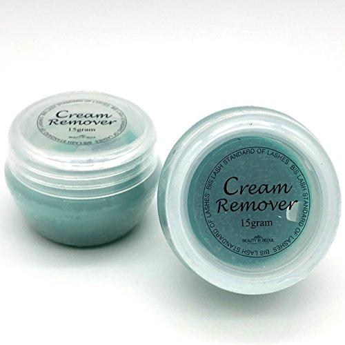 Cream Remover für die Wimpernverlängerung - Eyelash Extension Klebereste Entferner - Wimpernentferner - 15ml