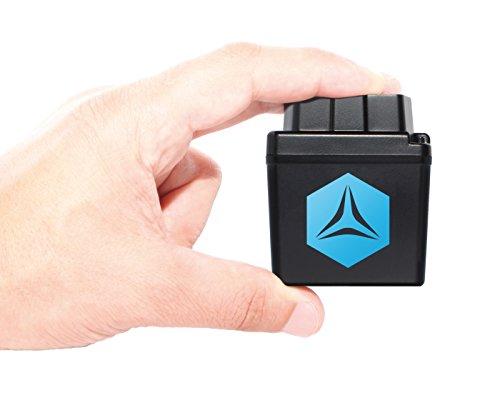 FLEETIZE GPS Tracker zur Live Fahrzeugortung, inkl. EU SIM Karte und 3 Monate Software-Lizenz, OBD2 Betrieb am PKW LKW, automatisch, flottenfähig, kabellos