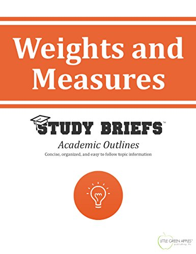 Weights and Measures (English Edition)