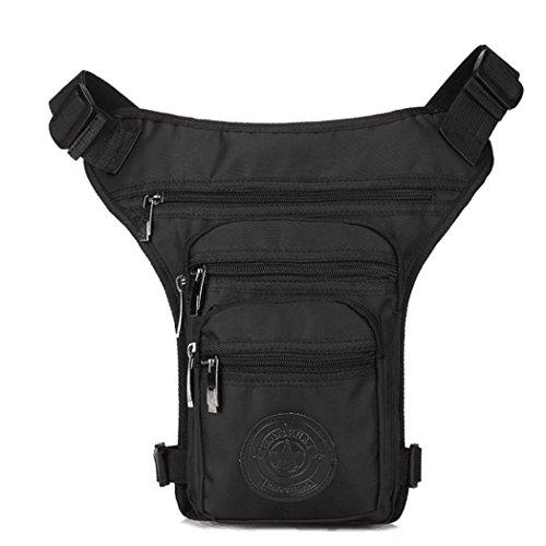 BFFACAI Multifunktionale Hüfttasche Mode Nylon BeintascheGürteltasche Messenger BagMotorrad- & Fahrrad-Tasche Klettern Outdoor-Reisen Sport Bequeme Tasche