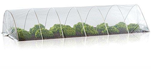 FLORABEST® Frühbeet-Schutztunnel, Folienmaß ca. 2 x 5 m für unterschiedliche Beetbreiten
