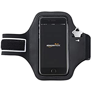 AmazonBasics Armband for iPhone 6, 6s and Samsung Galaxy S6