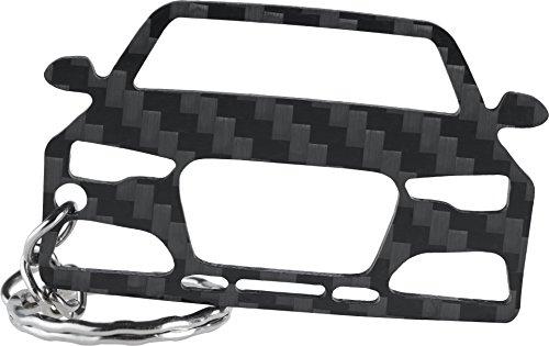 Audi RS6 C7 Carbon Schlüssel-Anhänger | 5,6 x 3,6 cm