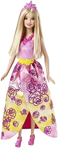Barbie 4260418750256 - Mix and Match CFF25 Prinzessin, Pink