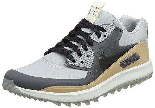 Nike Herren Air Zoom 90 IT Ngc Golfschuhe, Grau (Wolf Grey/Black/Dark Grey/Vachetta Tan/Summit White), 45 EU