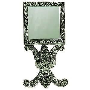 Ecouen - Musée national de la Renaissance - Miroir à main d'Ecouen - Argenté