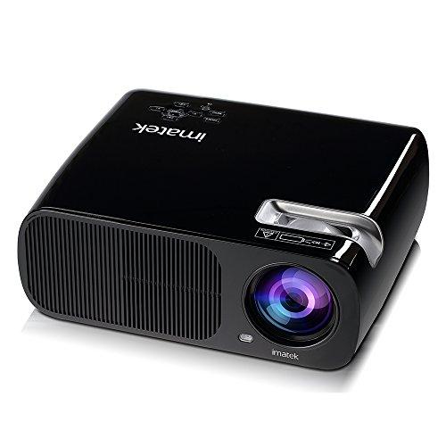 Videoproyector, IMATEK PJ-B200 Multifunción LCD proyector de vídeo,2600 lúmenes SVGA 800 *...