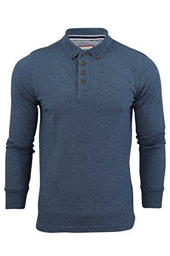 polo-da-uomo-t-camicia-by-brave-soul-lincoln-piqu-maniche-lunghe-oceano-blu-s