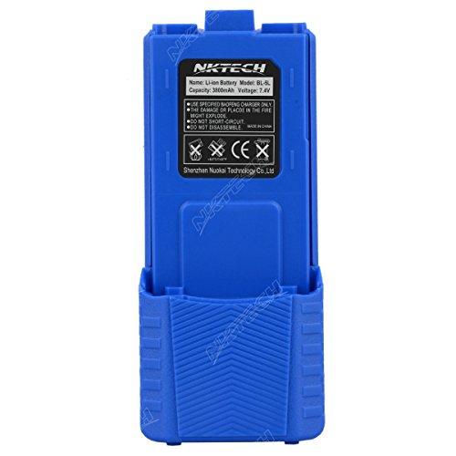 Nktech bl-5l estesa 3800mAh 7.4V Li-ion batteria per Baofeng Pofung