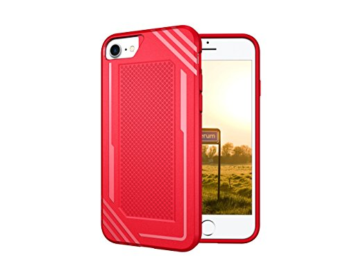 suichey iPhone 6/7/8 Fall, [Kratzfest] Slim Dual Layer, Technology Enhanced Grip Case Fit für iPhone 6/7/8 , Hybrid PC Rückseite + Weiche TPU Innen