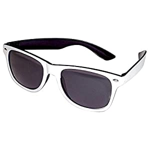 CREATIVE Fiesta Gafas Gafas Hermanos Blanco y Negro