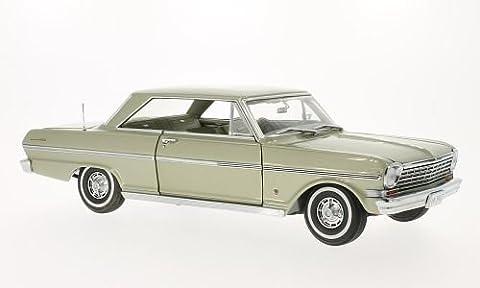 Chevrolet Nova, met.-beige , 1963, Modellauto, Fertigmodell, Sun Star 1:18