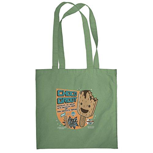 Texlab–Choco Groot Ice Cream–sacchetto di stoffa Oliva