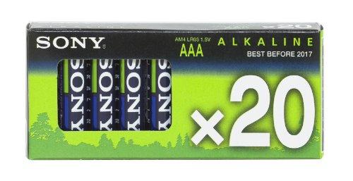Sony - Pile Alcaline - AAA x 20 - (LR03)