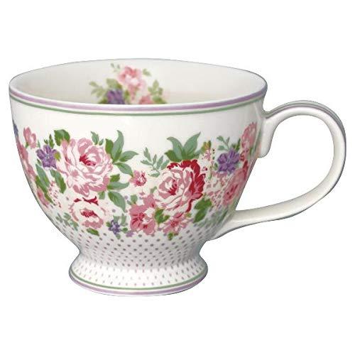 GreenGate - Teetasse - Tasse - Rose White - Porzellan - 400 ml White Rose Tasse