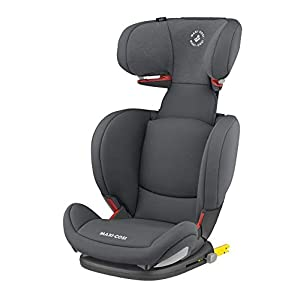 Maxi-Cosi RodiFix AirProtect Child Car Seat, Isofix Booster Seat, Graphite, 15-36 kg   14