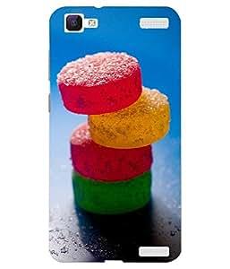 VIVO V1 Max Printed Back Case Cover By Make My Print