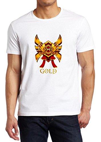 Gamer Quote Gold Division Shirt Custom Made T-shirt (XXL)