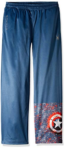 Spyder Active Sports Boy 's Marvel Momentum Pants, Jungen, Frontier/Captain, XL