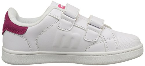 MTNG Niño, Funktionsschuh, 69681 mehrfarbig (ACTION LEATHER PU BLANCO / SERRAJE PU FUCSIA)