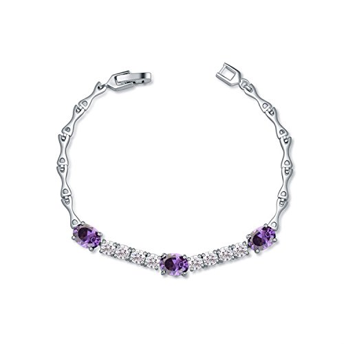 Extravaganz AAA Micro-Intarsien Zirkon Armband Frau Schmuck Delicate Crystal Xmas...