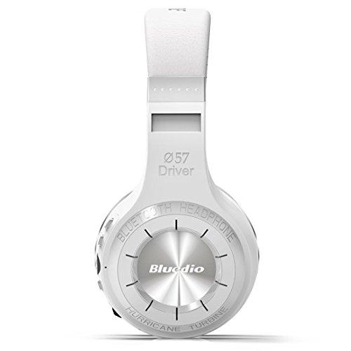 Kraus Tech® Bluedio H + (Turbine) Bluetooth casque stéréo casque sans fil Bulit Microphone Musique chaîne Micro SD/Radio FM bt4.1sur écouteurs Coffret cadeau T-shirt Paquet partage mondiale