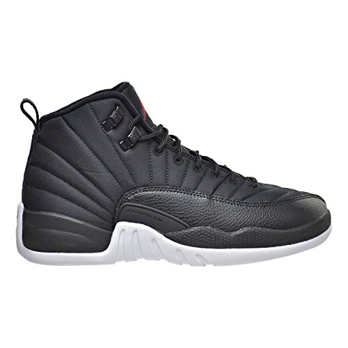 Nike Jungen Air Jordan 12 Retro BG Basketballschuhe, Schwarz (Schwarz / Gym Rot-Weiß), 37.5 EU Nike Schuhe Für Kinder Größe 12