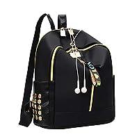 BKPEER Backpack Nieuwe Casual Rugzak Vrouwen Zwarte Waterdichte Nylon Schooltassen Voor Tienermeisjes Hoge Kwaliteit Mode Reizen Tote Rugzak