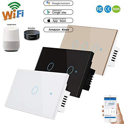 Control inteligente de 3 vías Smart Light PC V0 ignífugo + panel...