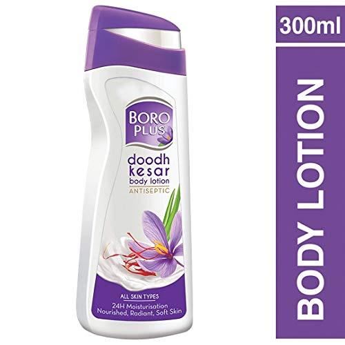 BoroPlus Doodh Kesar Body Lotion 300ml (pack of two)