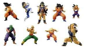 Dragon Ball Z (Dragonball) Chozoukei Damashii Soul Of Hyper Figuration Vol. 11 Trading Figur: Komplett-Set (9 Figuren) 5 cm
